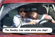 State senator calling for Sunday Law finds Seventh-day Adventists sleeping at the wheel