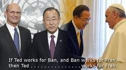 Ted Wilson with Ban Ki-Moon