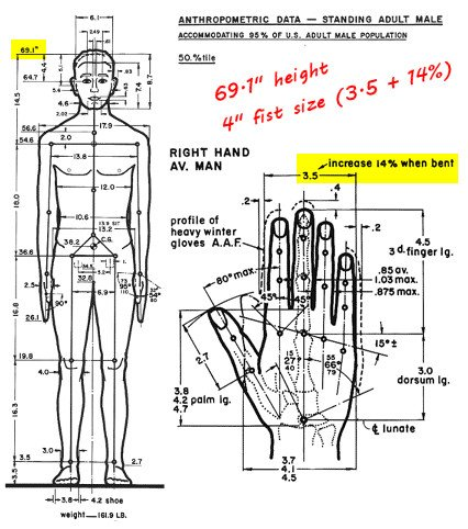 Anthropometric data