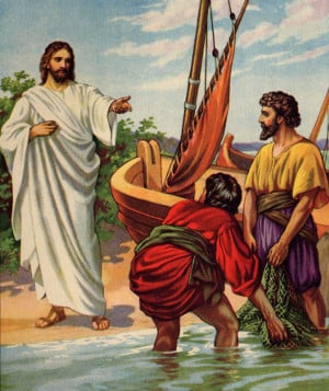 Dragging the fish to Jesus