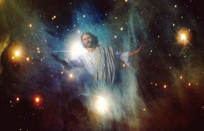 Jesus shows His Wounds in Orion
