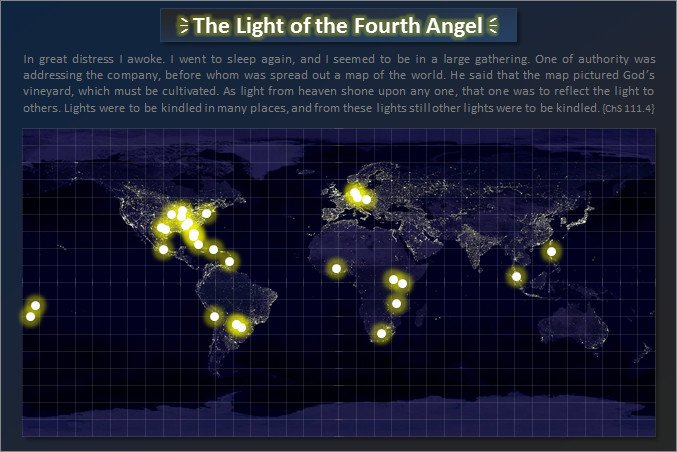The Map with the Light of the Fourth Angel