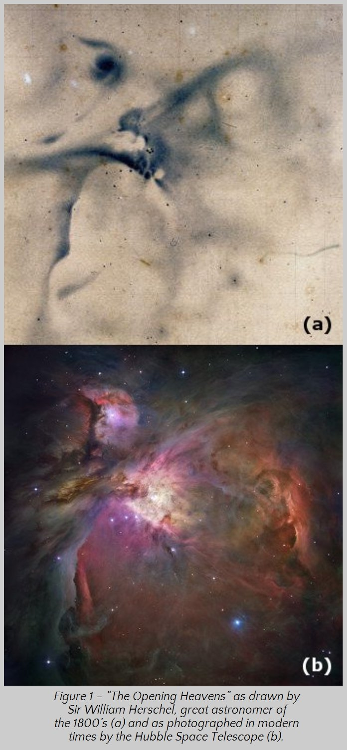 Imaging the Orion Nebula, then and now