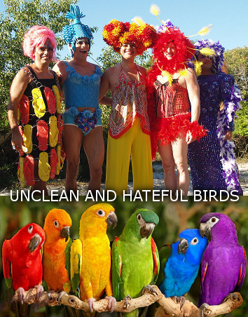 Unclean and hateful birds
