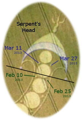 The head of the serpent