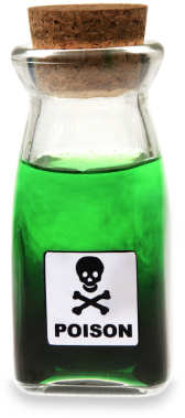 Bottle of poison