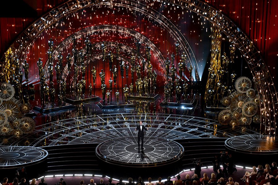 Oscars 2015 Stage Production